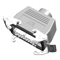 Mete Enerji - Mete Enerji 16x16a Çoklu Uzatma Prizi Üst Girişli Metal Mandallı Contalı (Rakorsuz)/ 403118s
