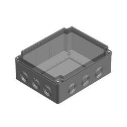 Mete Enerji - Mete Enerji 190x240x90 Termoplastik Buat Şeffaf Kapak/ 40208007