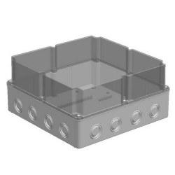 Mete Enerji - Mete Enerji 290x290x140 Termoplastik Buat Derin Kapak Şeffaf/ 40207207
