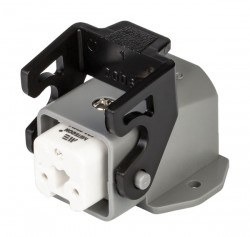 Mete Enerji - Mete Enerji 3x10a Termoplastik Eğik Makine Prizi/ 403264
