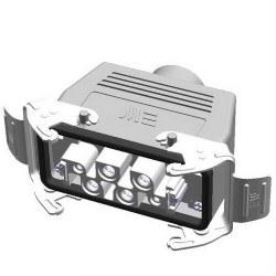 Mete Enerji - Mete Enerji 4/2x80/16a Çoklu Uzatma Prizi Üst Girişli Metal Mandallı Contalı/ 403431s