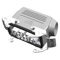 Mete Enerji - Mete Enerji 4/2x80/16a Çoklu Uzatma Prizi Yan Girişli Metal Mandallı Contalı/ 403424s