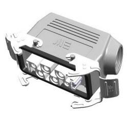 Mete Enerji - Mete Enerji 4/0x80a Çoklu Uzatma Prizi Metal Mandallı Contalı/ 403404s