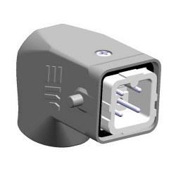 Mete Enerji - Mete Enerji 4x10a Alüminyum Eğik Fiş (Rakorsuz)/ 403006