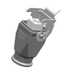 Mete Enerji - Mete Enerji 4x10a Alüminyum Uzatma Prizi Metal Mandallı (Rakorsuz)/ 403004s