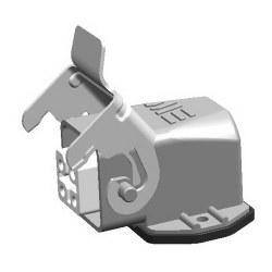 Mete Enerji - Mete Enerji 4x10a Alüminyum Eğik Makine Prizi/ 403002s