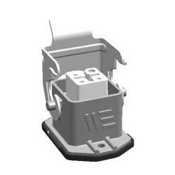 Mete Enerji - Mete Enerji 4x10a Alüminyum Makine Prizi Metal Mandallı/ 403001s