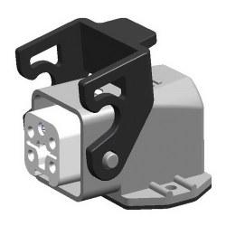 Mete Enerji - Mete Enerji 5x10a Çoklu Termoplastik Eğik Makine Prizi/ 403077