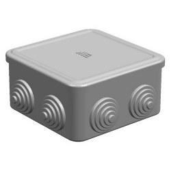 Mete Enerji - Mete Enerji 90x90x45 Termoplastik Buat Geçmeli Kapak Gri/ 40200505