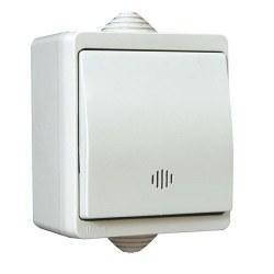 Mete Enerji - Mete Enerji / Nemliyer Gri Işıklı Anahtar / 40501105