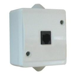 Mete Enerji - Mete Enerji / Nemliyer Gri RJ11 Telefon Prizi / 40501405