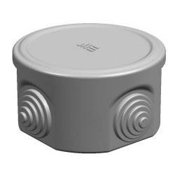 Mete Enerji - Mete Enerji Q80x45 Termoplastik Buat Geçmeli Kapak Gri/ 40200305