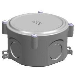 Mete Enerji - Mete Enerji Q80x45 Termoplastik Buat Vidalı Kapak Gri/ 40200605
