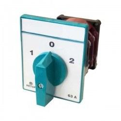 Metop - Metop / Kutup Değişirici 2-0-1 63A Pako Şalter/ MT029-63A