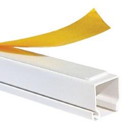 Mutlusan - Mutlusan / 12x12 mm Yapışkan Bantlı Kablo Kanalı / 001 014 012012 20 00