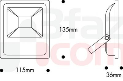 Nade-10w Led Projektör 6500k Beyaz-113 01 1226