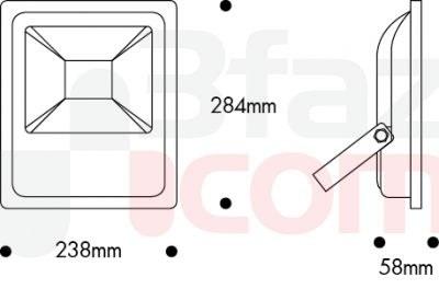 Nade / 50w Led Projektör 6500k / 103.03.1226
