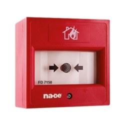 Nade - Nade / Adreslenebilir Yangın Alarm Butonu + Kırılabilir Cam / FD7150