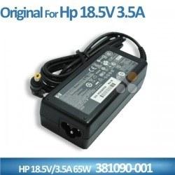 Hp - ORİJİNAL HP 381090-001 Adaptör 18,5v 3,5a (sarı)