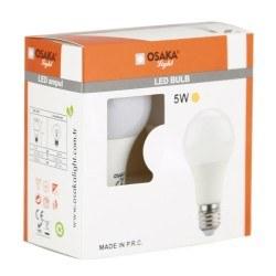 Osaka - Osaka / 230v 5w e27 a60 led ampul ( ikili paket )