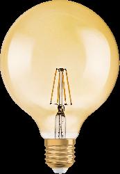 Osram - Osram / 7w 1906 Globe Rustik Flamentli Led Ampül 2400k Sarı E27 /4058075809406