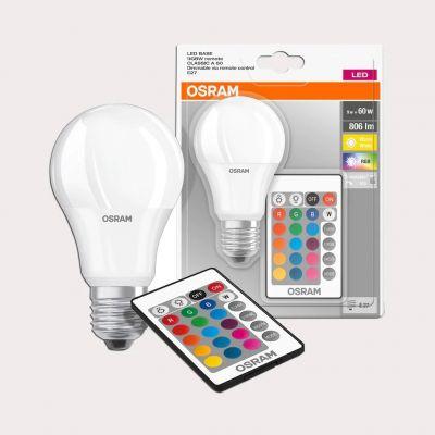 Osram 9W Uzaktan Kumandalı ve Işık Rengi Değişebilen Led Ampul-4058075091023
