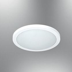 Özcan Aydınlatma - Özcan 30 Cm Lena Armatür Beyaz Metal Gövde/Cam 1x 40w E27- 1405-30,01