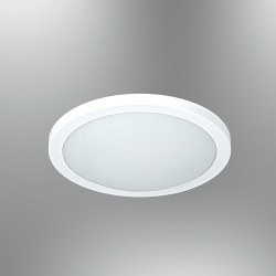 Özcan Aydınlatma - Özcan 40 Cm Lena Armatür Beyaz Metal Gövde/Opal Cam 2 X 40w E27- 1405-40,01