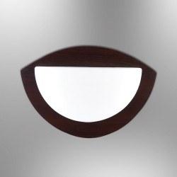 Özcan Aydınlatma - Özcan Luksor Daire Aplik Venge Ahşap Gövde/Opal Cam 1x 40w E27- 5086-Apl,15