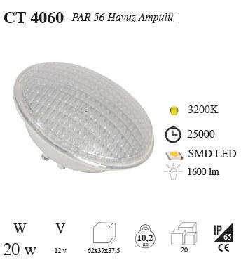 Cata Par 56 Havuz Ampulu Ledli (Günışığı Mavi veya Beyaz ) Ct-4060g