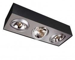 Philips Lirio - Philips / Bloq Plate/Spiral Black 3X50W 12V / 5700330LI