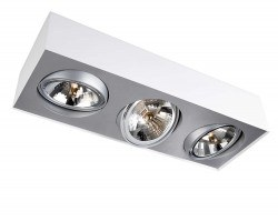 Philips Lirio - Philips / Bloq Plate/Spiral White 3X50W / 5700331LI