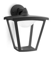 Philips - PHILIPS/ Cottage Duvar Aplik Siyah LED 1X4.5W / 154813016