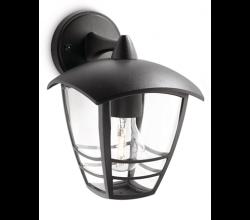 Philips - Philips / Creek Duvar Aplik Siyah 1X60W / 153813016