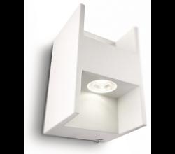 Philips - Phılıps Metric Aplik Led Beyaz 2X2.5W Selv