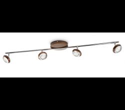 Philips - PHILIPS/ Sepia Spot LED Kahverengi 4X4,5 W / 571744416
