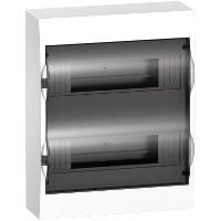 Schneider Electric - Schneider / 2x12'li Sıvaüstü Şeffaf Kapaklı Sigorta Kutusu / EZ9E212S0S