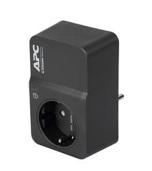 Schneider-Apc Tekli Akım Korumalı Priz Siyah-PM1WB-GR - Thumbnail