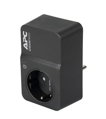 Schneider-Apc Tekli Akım Korumalı Priz Siyah-PM1WB-GR