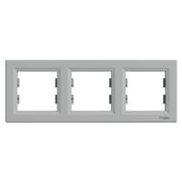 Schneider Electric - Schneider Asfora Alüminyum 3'lü Yatay Çerçeve / Eph5800361