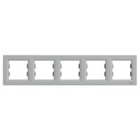Schneider Electric - Schneider Asfora Alüminyum 5'li Yatay Çerçeve / Eph5800561