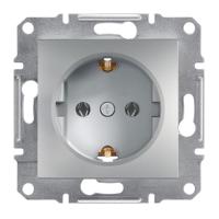 Schneider Electric - Schneider Asfora Alüminyum Topraklı Priz / Eph2900161