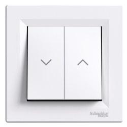 Schneider Electric - Schneider / Asfora Beyaz Jaluzi Anahtar / EPH1300121