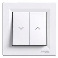 Schneider Electric - Schneider / Asfora Beyaz Jaluzi Anahtar / EPH1300521