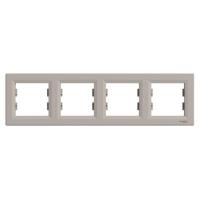 Schneider Electric - Schneider Asfora Bronz 4'lü Yatay Çerçeve / Eph5800469