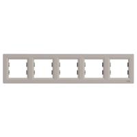 Schneider Electric - Schneider Asfora Bronz 5'li Yatay Çerçeve / Eph5800569