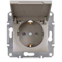 Schneider Electric - Schneider Asfora Bronz Kapaklı Topraklı Priz / Eph3100169