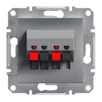 Schneider Electric - Schneider Asfora Çelik 2'li Hoparlör Prizi / Eph5700162