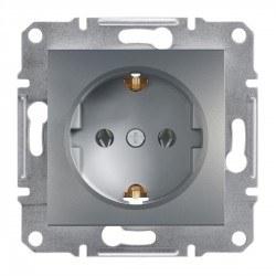 Schneider Electric - Schneider Asfora Çelik Topraklı Priz / Eph2900162