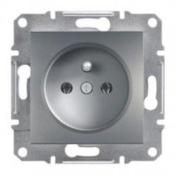 Schneider Electric - Schneider Asfora Çelik Ups Topraklı Priz / Eph2800162